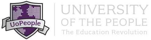 Logo of University of the People